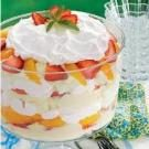 Strawberry Peach Trifle