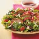 Warm Pork and Raspberry Salad
