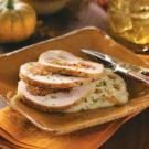 Chorizo-Stuffed Turkey Breast with Mexican Grits