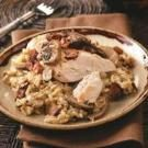 Herbed Chicken with Wild Rice