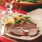 Brisket with Cranberry-Horseradish Gravy