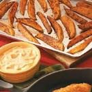 Sweet Potato Wedges with Chili Mayo