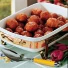 Ham Balls with Brown Sugar Sauce