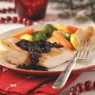 Chicken with Cranberry-Balsamic Sauce