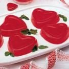 Red-Hot Molded Hearts