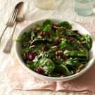 Cranberry-Sesame Spinach Salad
