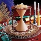 Chocolate New Year's Hourglass