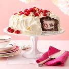 Chocolate Raspberry Tunnel Cake