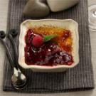 Red Raspberry Creme Brulee