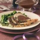 Brined Pork Roast with Port Wine Sauce