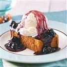 Blueberry Shortcake Sundaes