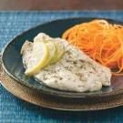 Lime-Marinated Orange Roughy