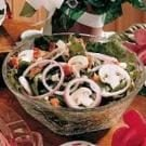 Blue Cheese Spinach Salad