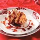 Spiced Pumpkin Ice Cream Puffs
