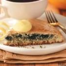 Poppy Seed-Filled Scones with Lemon Curd