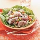 Grilled Tuna Bibb Salads