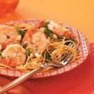 Rosemary Shrimp with Spaghetti
