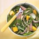 Tropical Spinach & Ham Salad