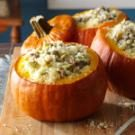 Sausage & Rice Stuffed Pumpkins