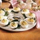 Dilly Deviled Eggs