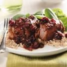 Cranberry-Ginger Pork Ribs