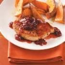 Cranberry-Maple Pork Chops