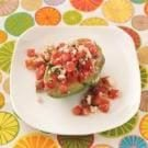 Tomato Salad-Stuffed Avocados