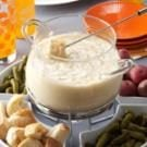Three-Cheese Fondue