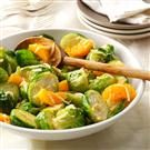 Brussels Sprouts and Mandarin Oranges