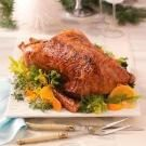 Christmas Goose with Orange Glaze