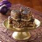 Golden Walnut Caramel Squares