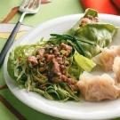 Thai Pork Salad Wraps