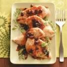 Chicken Cutlets with Citrus Cherry Sauce