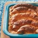 Makeover Chocolate Croissant Pudding