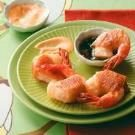 Phyllo Shrimp with Dipping Sauces