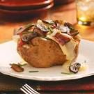 Bacon, Cremini & Brie Potatoes