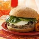 Three-Cheese Florentine Burgers