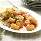 Spicy Mango Scallops