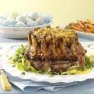 Crown Roast with Apricot Dressing