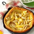 Apple-Pear Puff Pancake