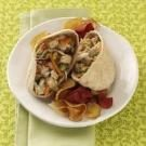 Thai Turkey Salad Pitas