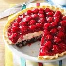 Red, White and Blue Berry Pie