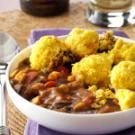 Corn Bread-Topped Chicken Chili