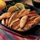 Cracker-Coated Fried Perch