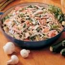 Ham and Vegetable Linguine
