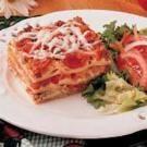 Classic Cheese Lasagna Recipe | Taste of Home
