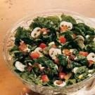 Spinach Salad with Honey-Bacon Dressing