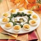 Garlic Deviled Eggs