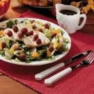 Turkey Salad with Raspberries