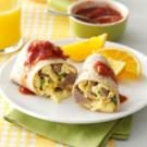 New Mexico Green Chili Breakfast Burritos
